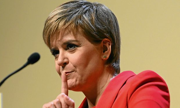 Sturgeon's approval ratings collapse but support for SNP still strong