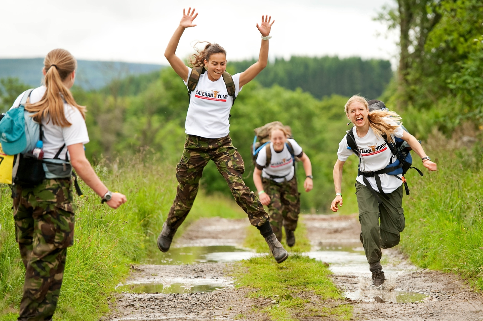 The Cateran Yomp is fantastic fun!