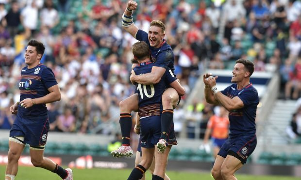London Sevens: Scotland beat England to seal second ever title