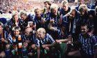 The victorious Gothenburg team.