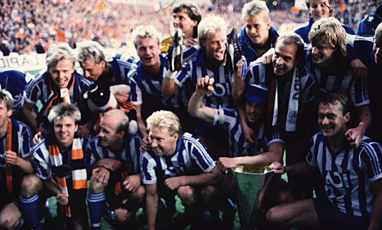 The victorious Gothenburg team.