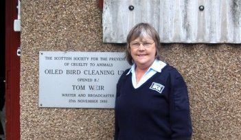 Middlebank Wildlife Centre manager Sandra Bonar, who died after suffering complications related to EAA