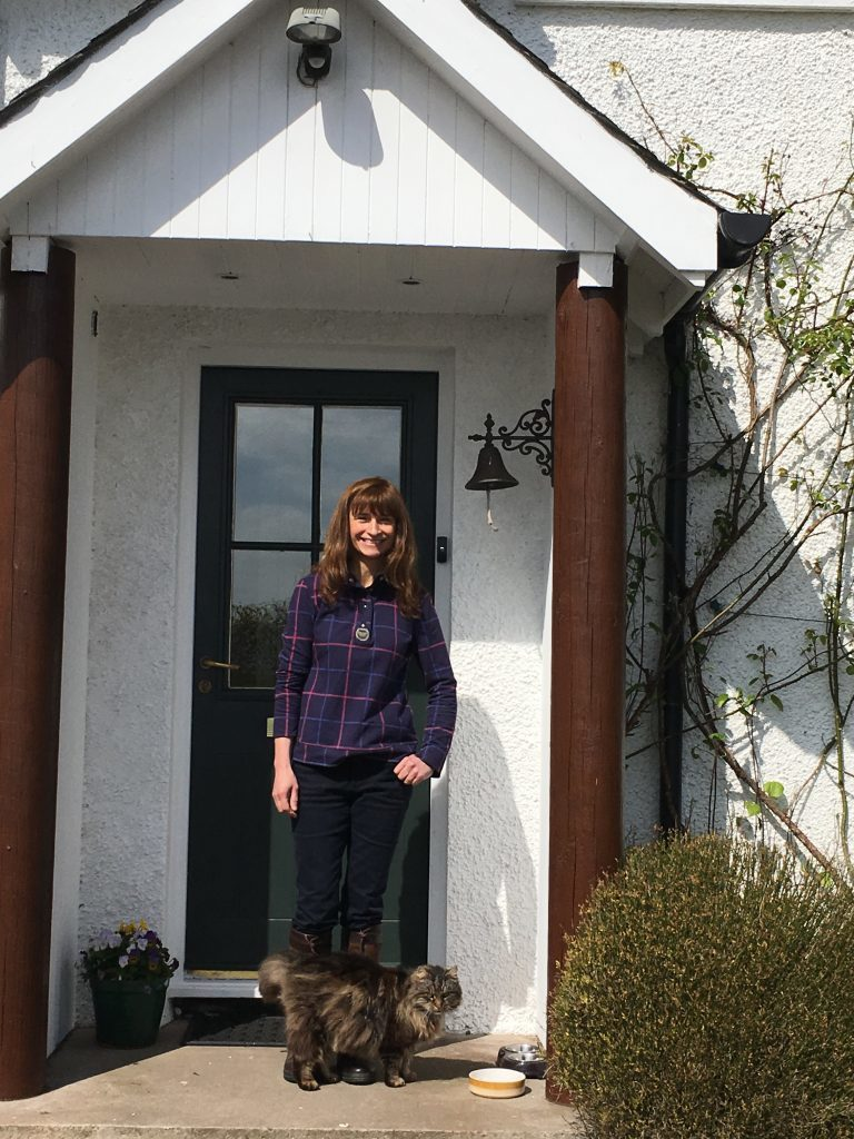 Alison Page at Birniehill Farmhouse, Glenfarg, for House and Home (4)