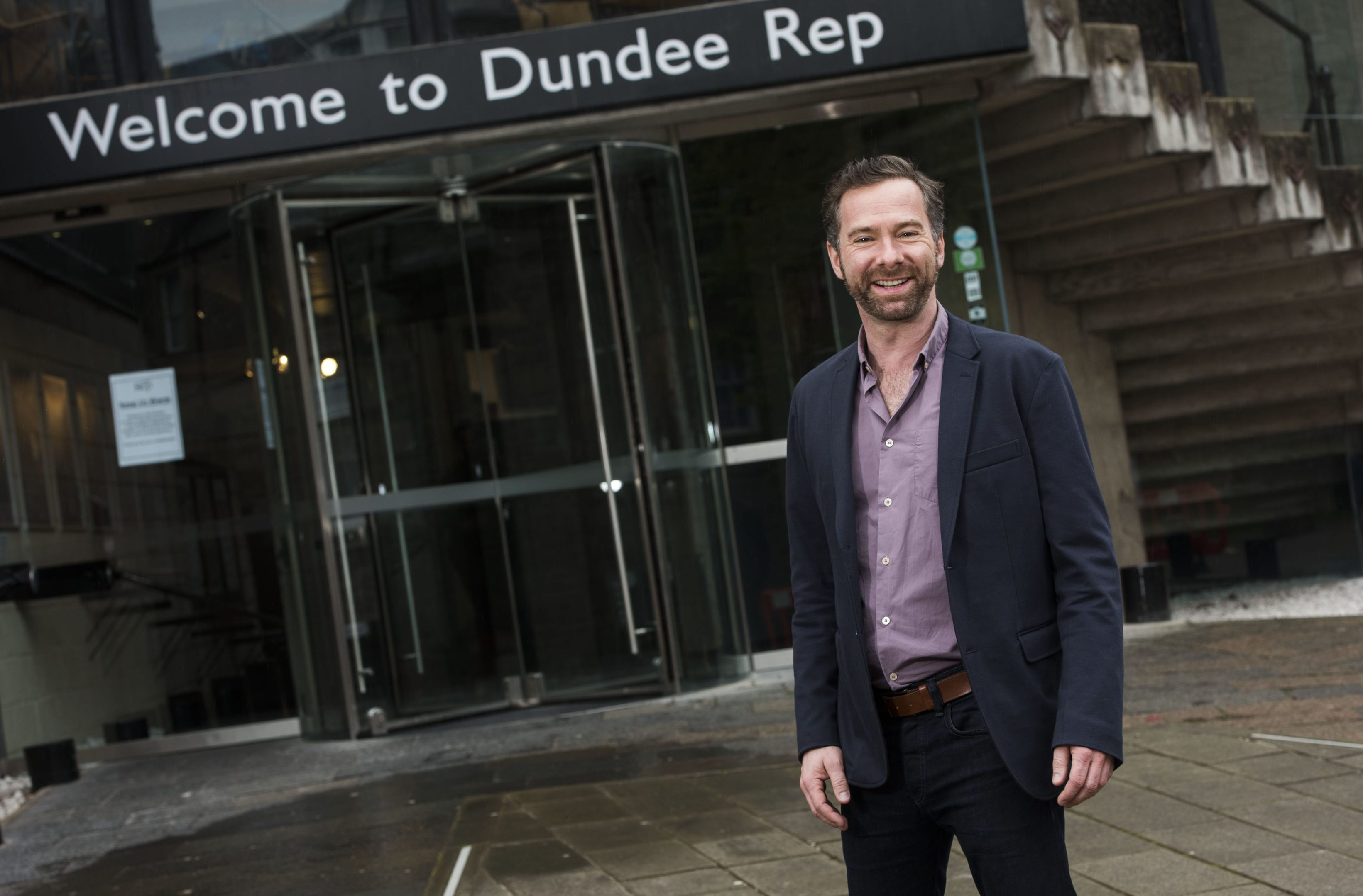Andrew Panton, Artistic Director at Dundee Rep