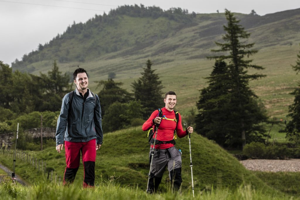 The Yomp passes through some of Perthshire and Angus's finest scenery.