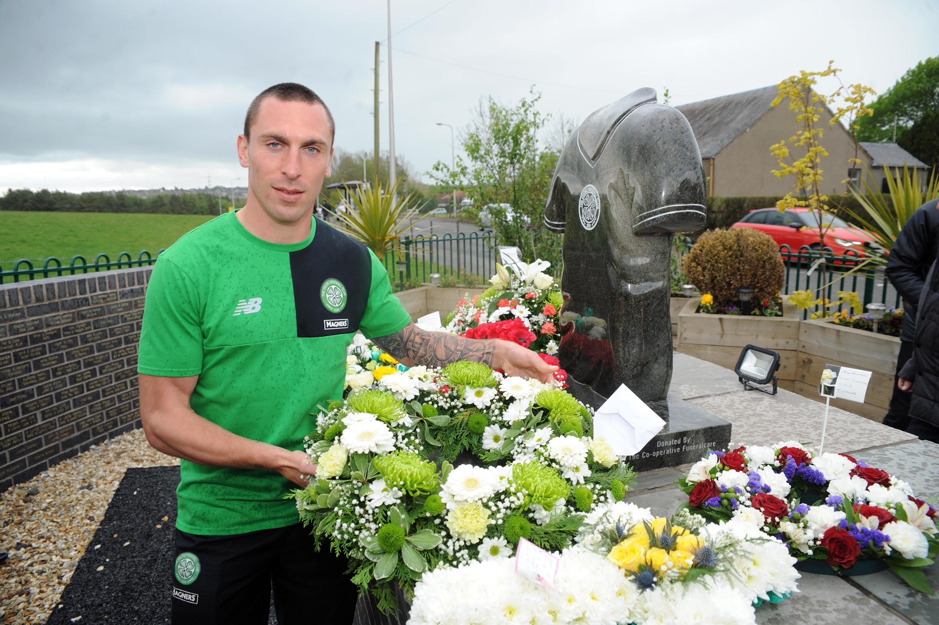 Celtic's Scott Brown remembers Celtic player, Peter Johnstone.