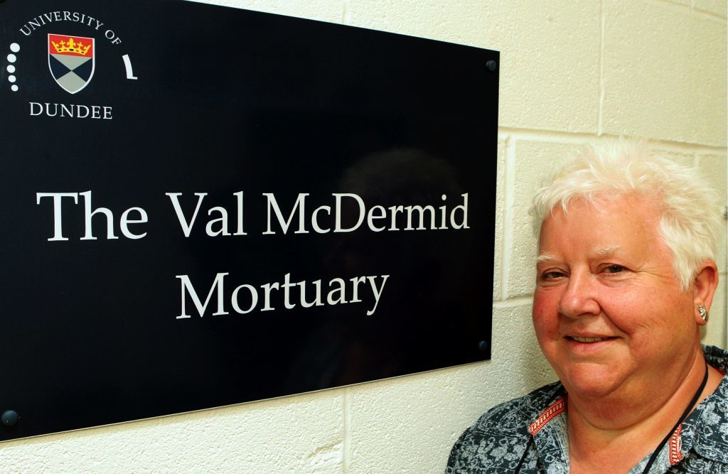 University of Dundee, Morgue named after leading crime writer Val McDermid