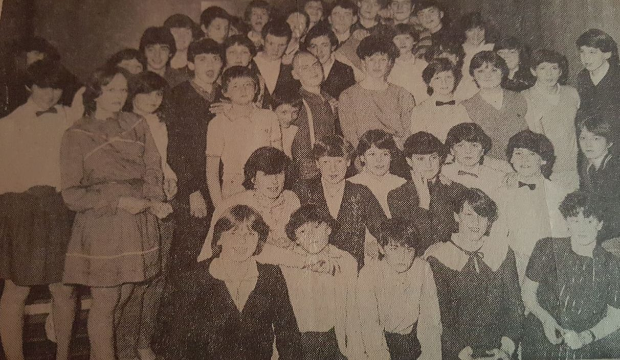 Do you recognise yourself? Whitfield High School pupils attending a school disco at the former Angus Hotel in Dundee.