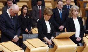 Manchester attack: Scottish Parliament pauses to pay tribute to victims