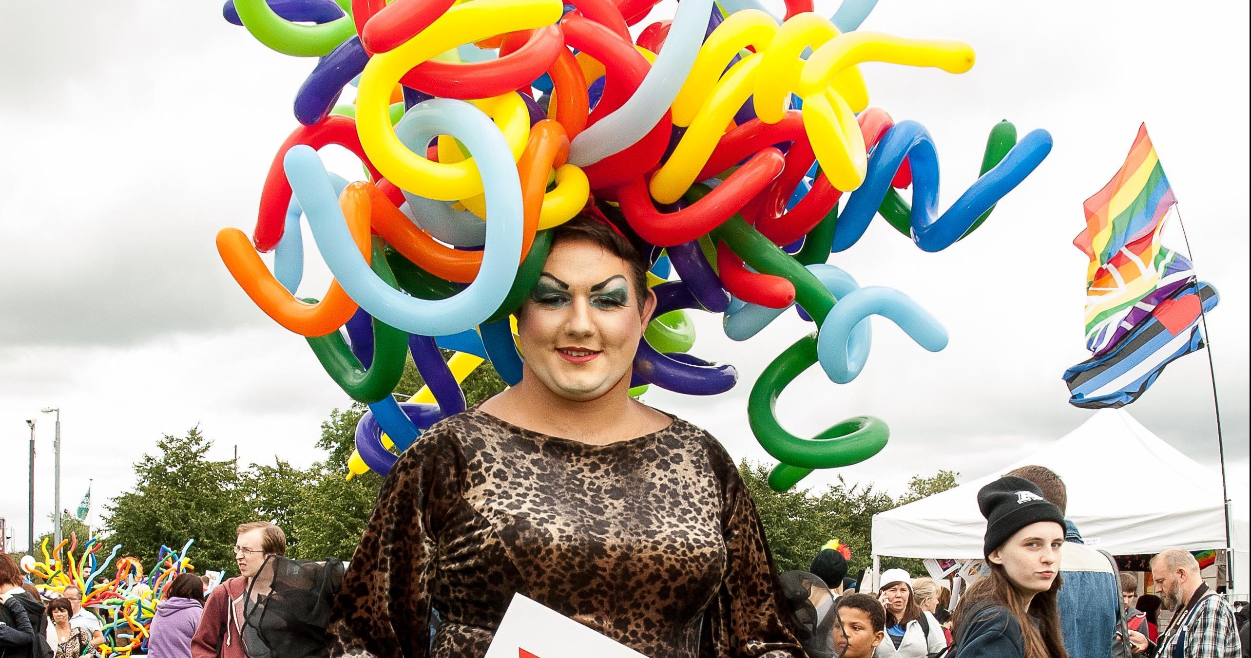 Nathan Sparling, aka drag queen Nancy Clench, will hosted the Kirkcaldy Pride event