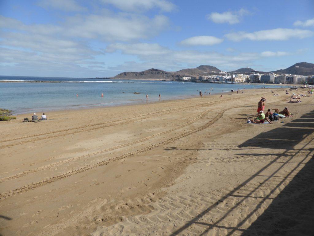 Las Canteras Beach.