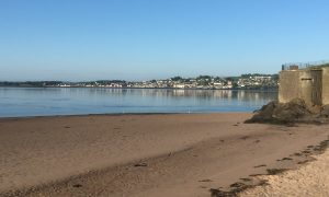 Another sunny morning in Broughty Ferry today.