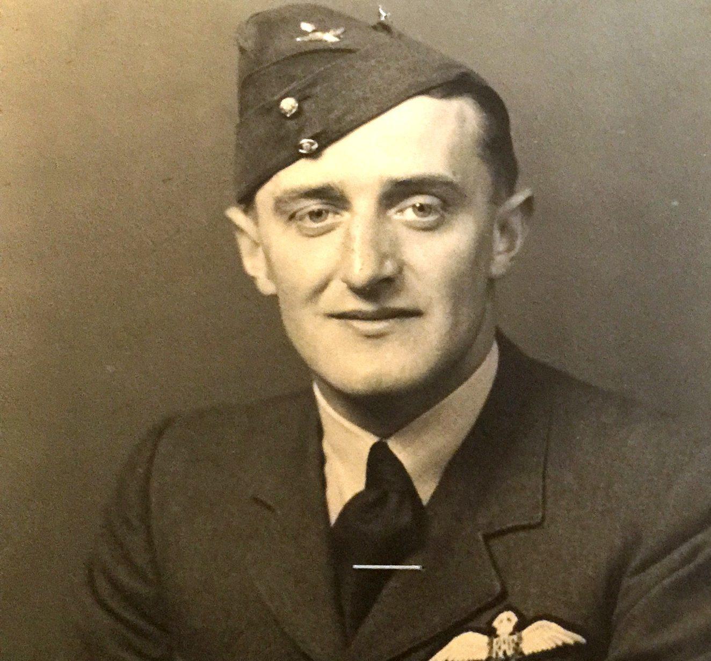 Wing Commander Gerald A Lane OBE DFC.