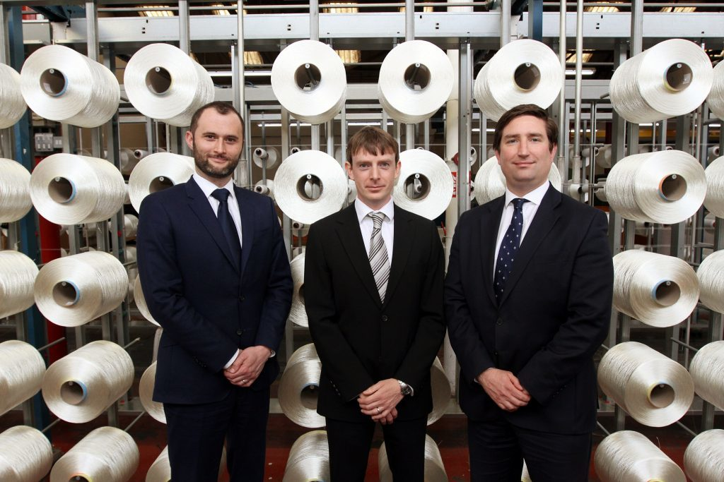 The new J&D Wilkie board of Jean- Christophe Gravier(joint Managing Director) Hamish Roweuan (joint Managing Director) and Roger McGill(Finance Director).