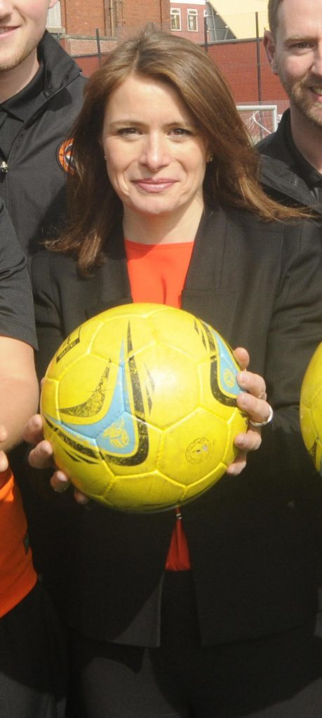 Former Dundee United director Justine Mitchell