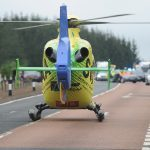 Mum and son fighting for lives after crash on A90