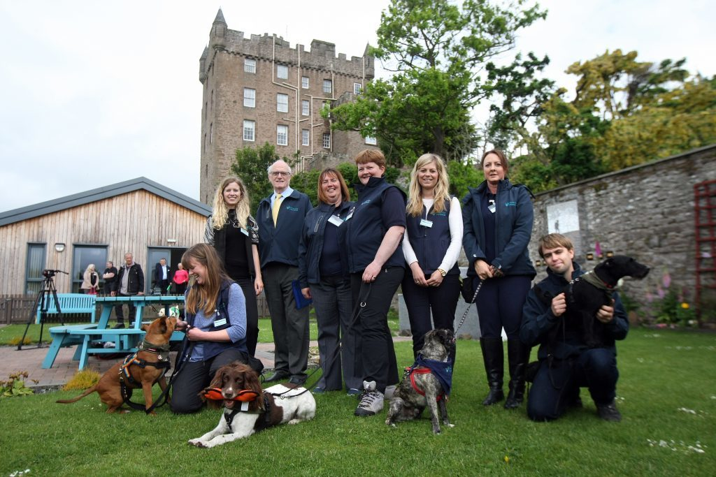 Some of the group from Paws for Progress. Tuesday, 30th May, 2017.