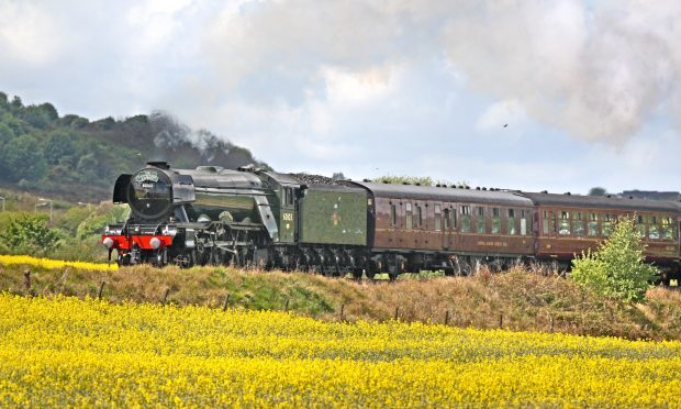 Flying Scotsman to steam through Northumberland