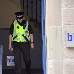 Dundee police descend on city centre flat after sudden death