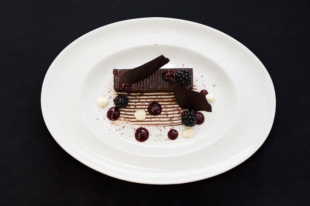 "Mark's heavenly ""80% chocolate"" dish."