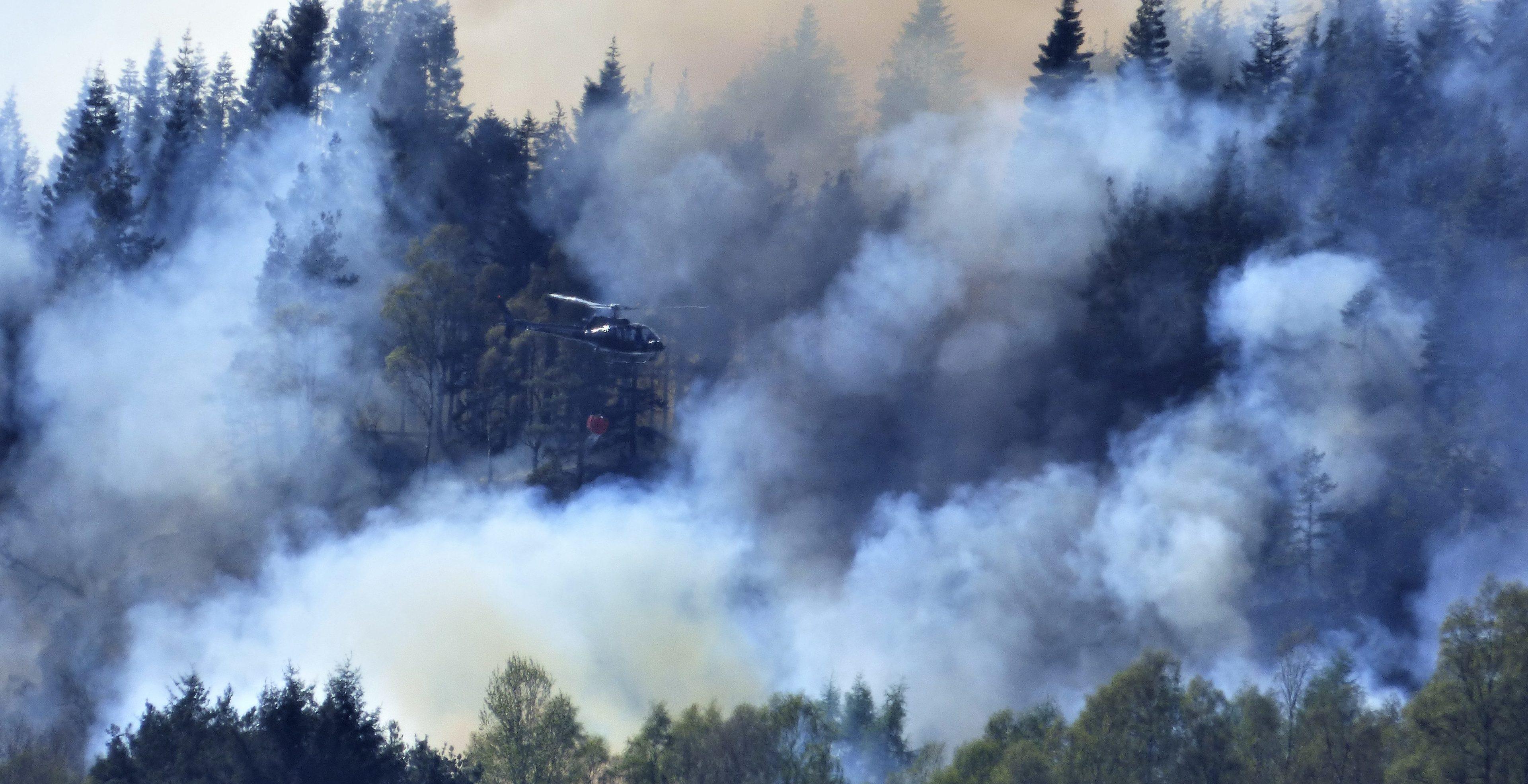 The incident follows a serious blaze at Faskally.