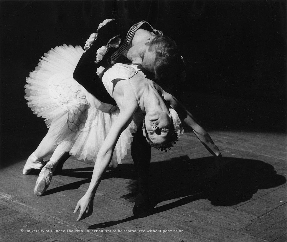 Nerina & Bruhn, Swan Lake, 1962.