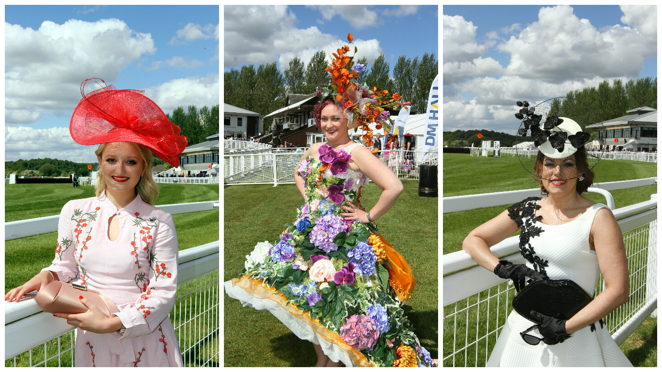 Ladies Day at the Perth Racecourse.