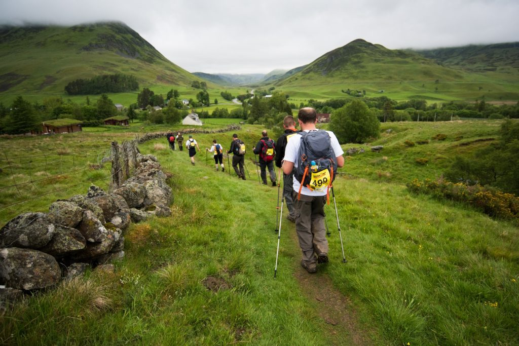 The Yomp is a great fun, but gruelling, event!