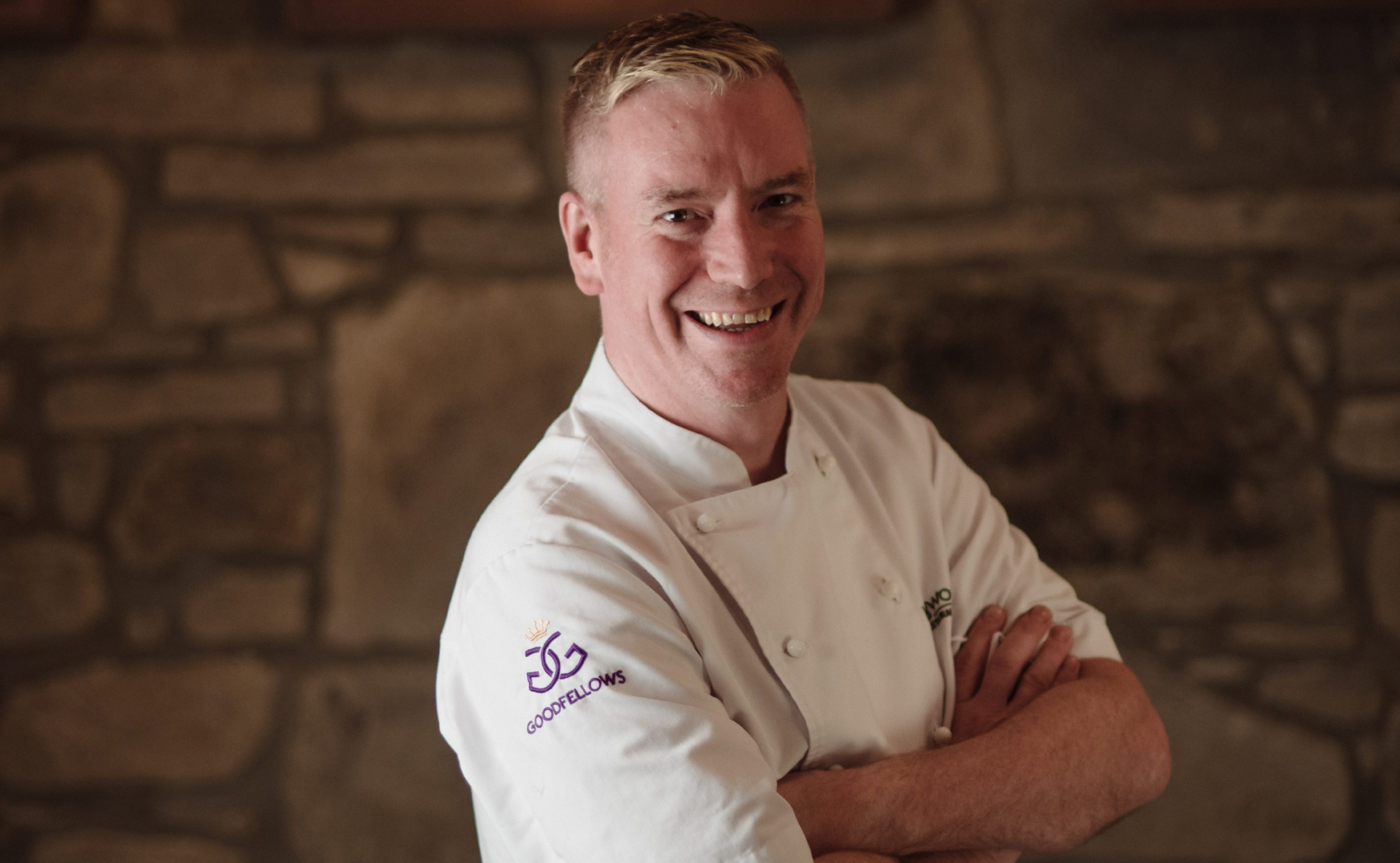 Paul Wedgwood, the chef patron of Wedgwood the restaurant in Edinburgh,