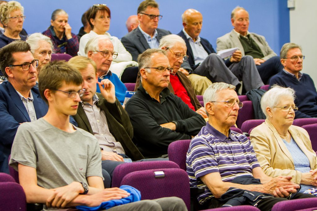 Some of the audience at The Courier's Perth hustings.