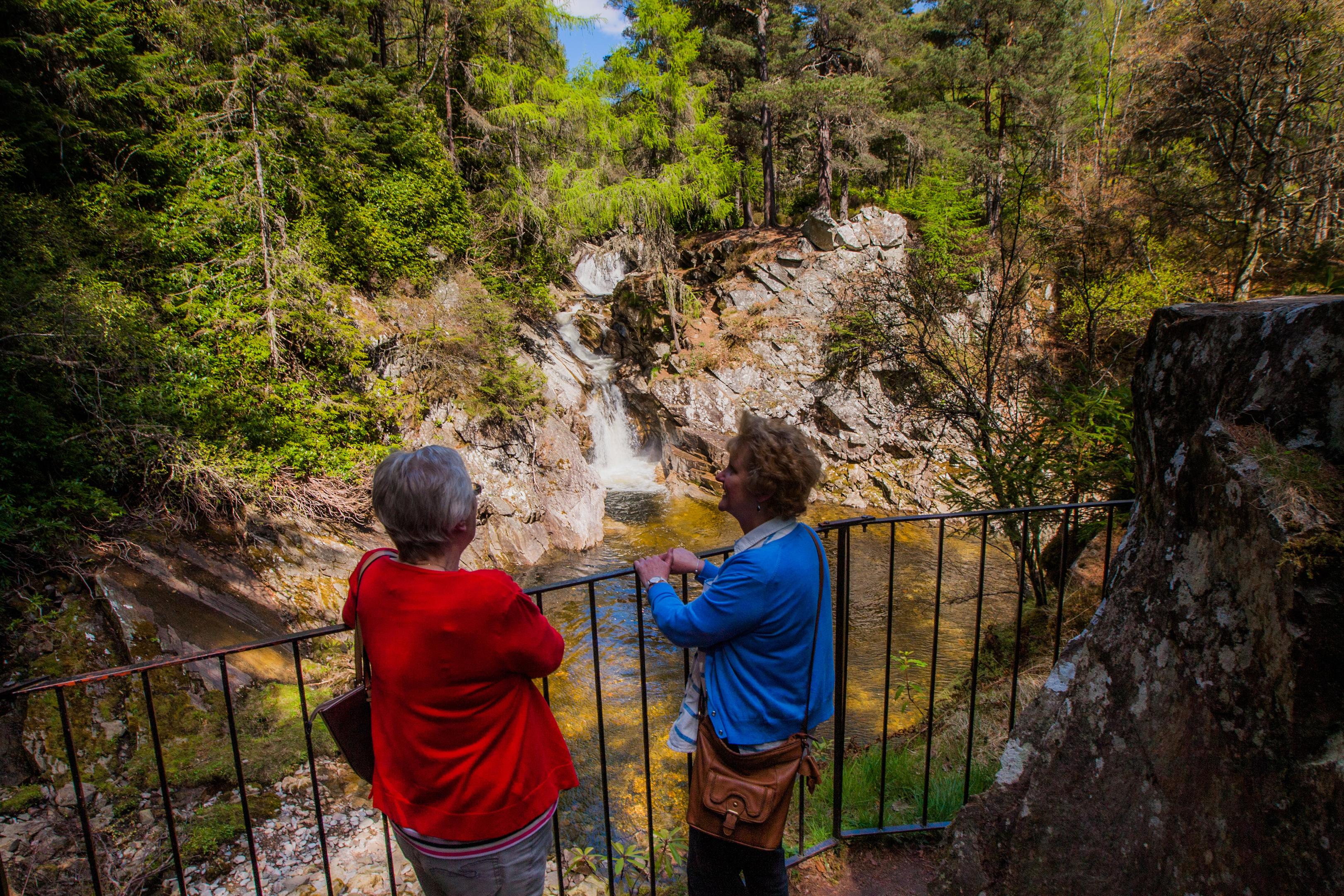 The Falls of Bruar.
