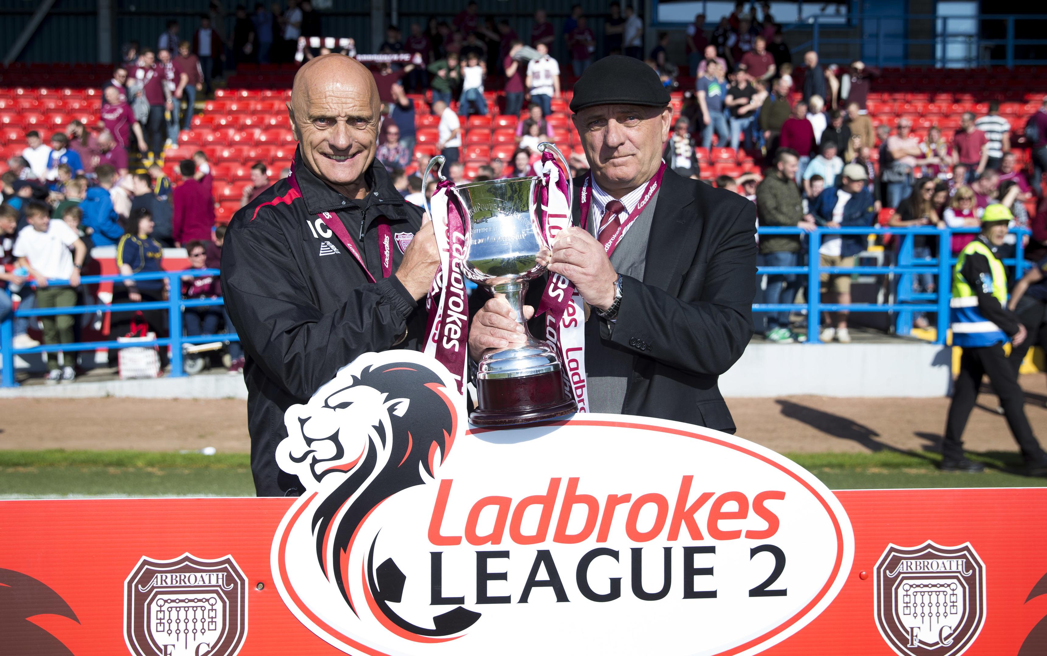 Arbroath were crowned champions last weekend.