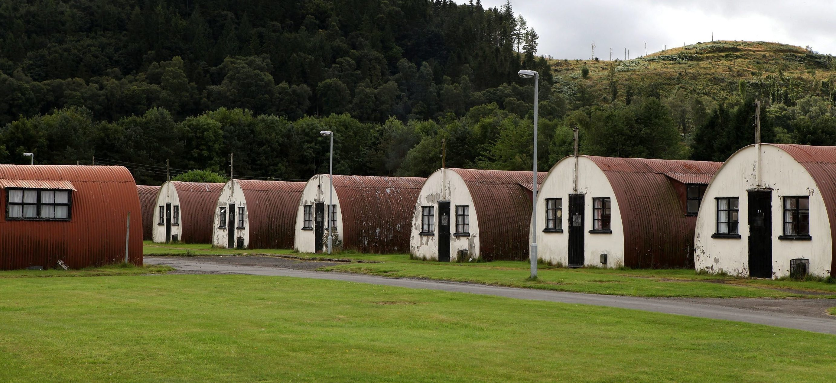Cultybraggan Camp.