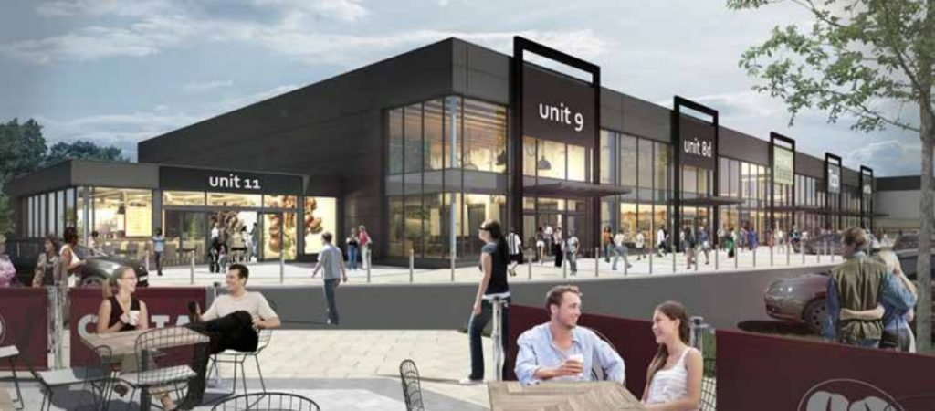 How the Perth retail park could look.
