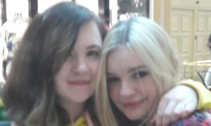 Heather Cupples and Riley Blackery.
