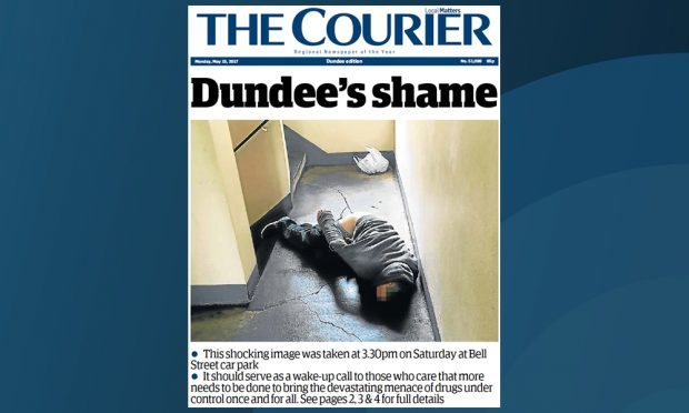 Our front page.