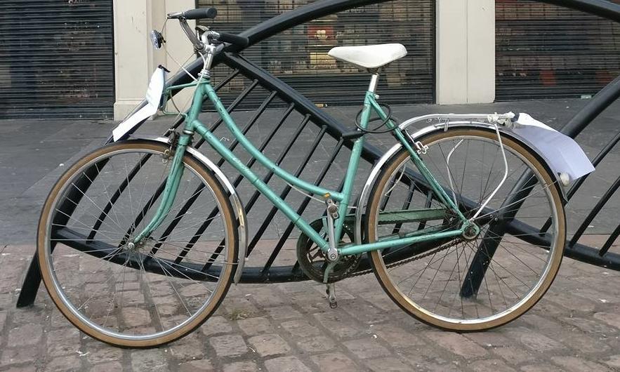 """The """"communal bike""""."""