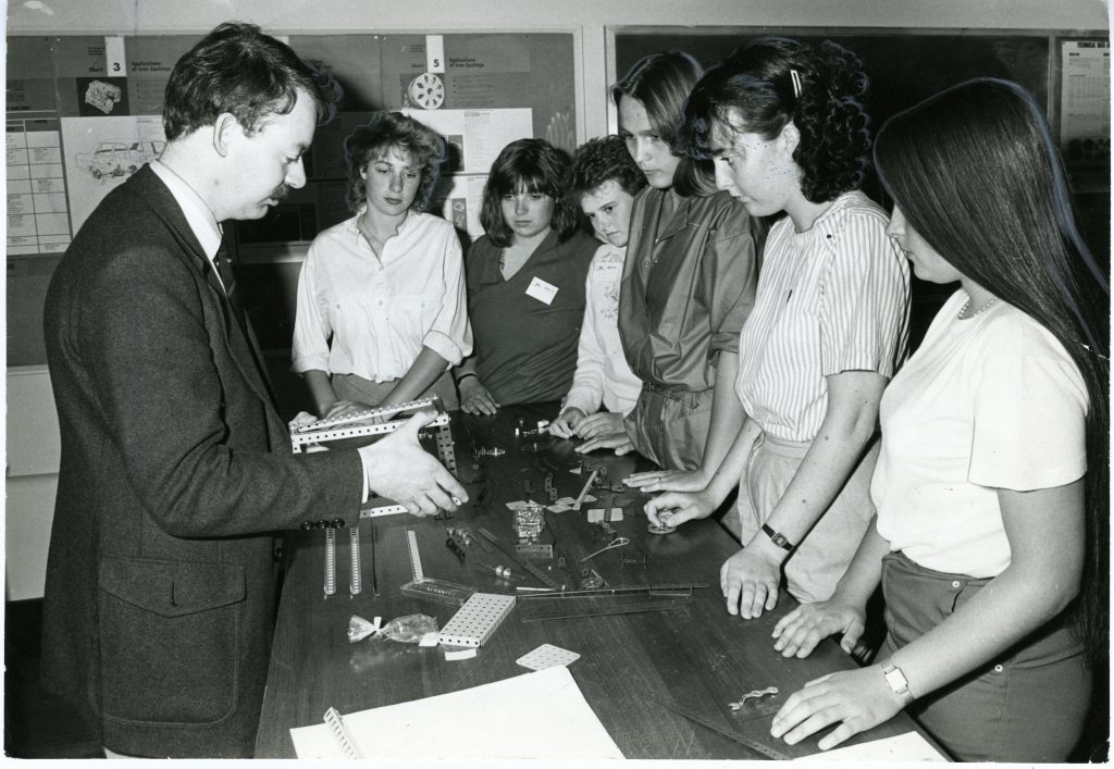 Inisght 84, a conference aimed at encouraging young women to seek careers in engineering began at Dundee University.