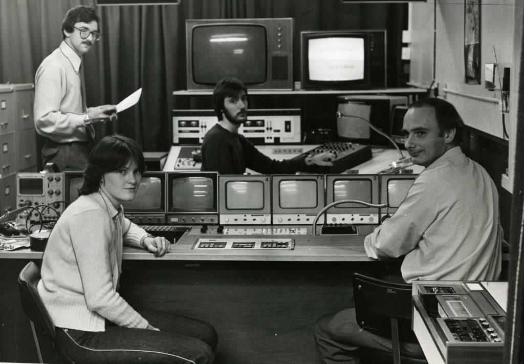 Dundee University studio, 1980
