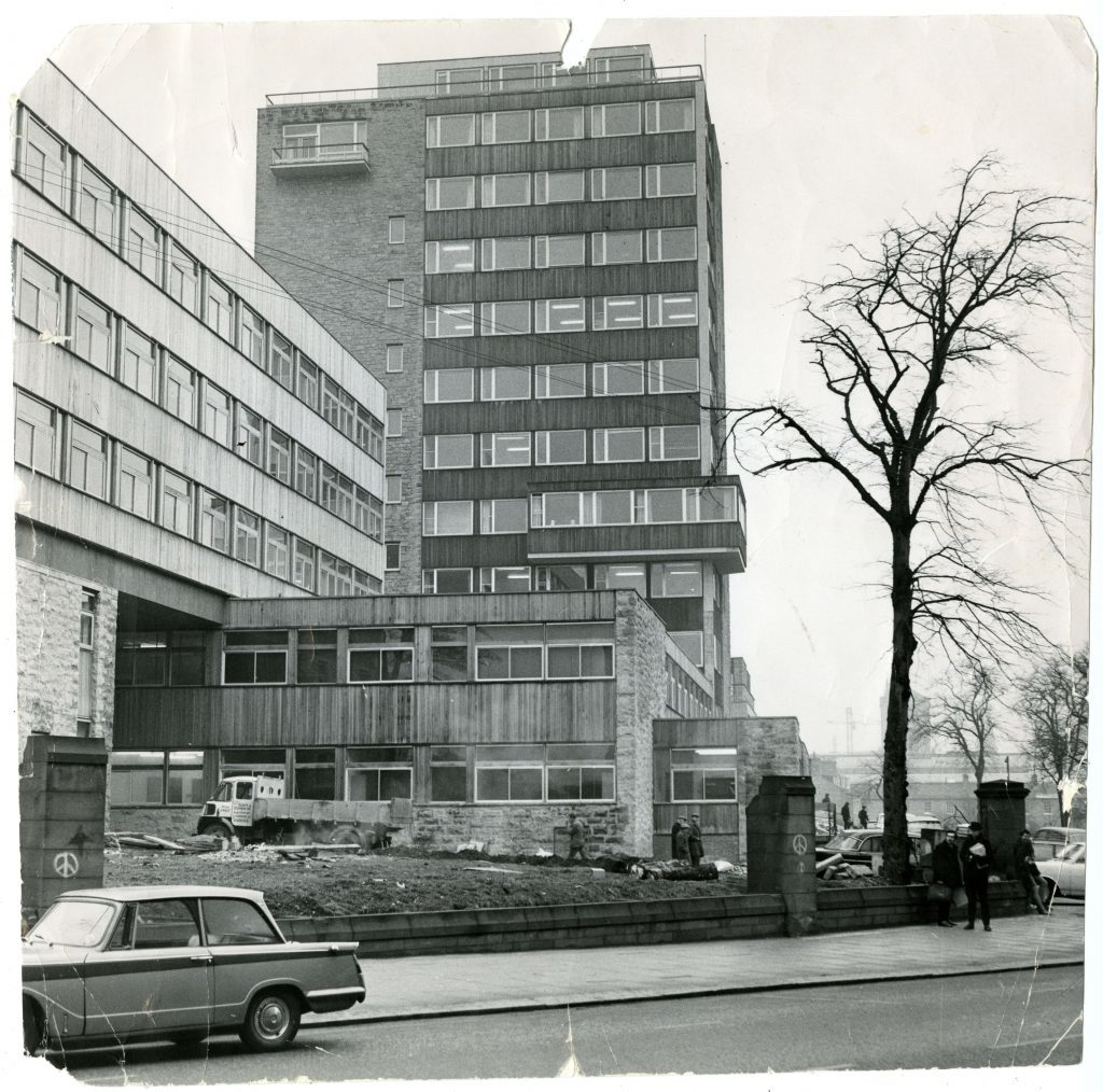 Tower Building, 1969