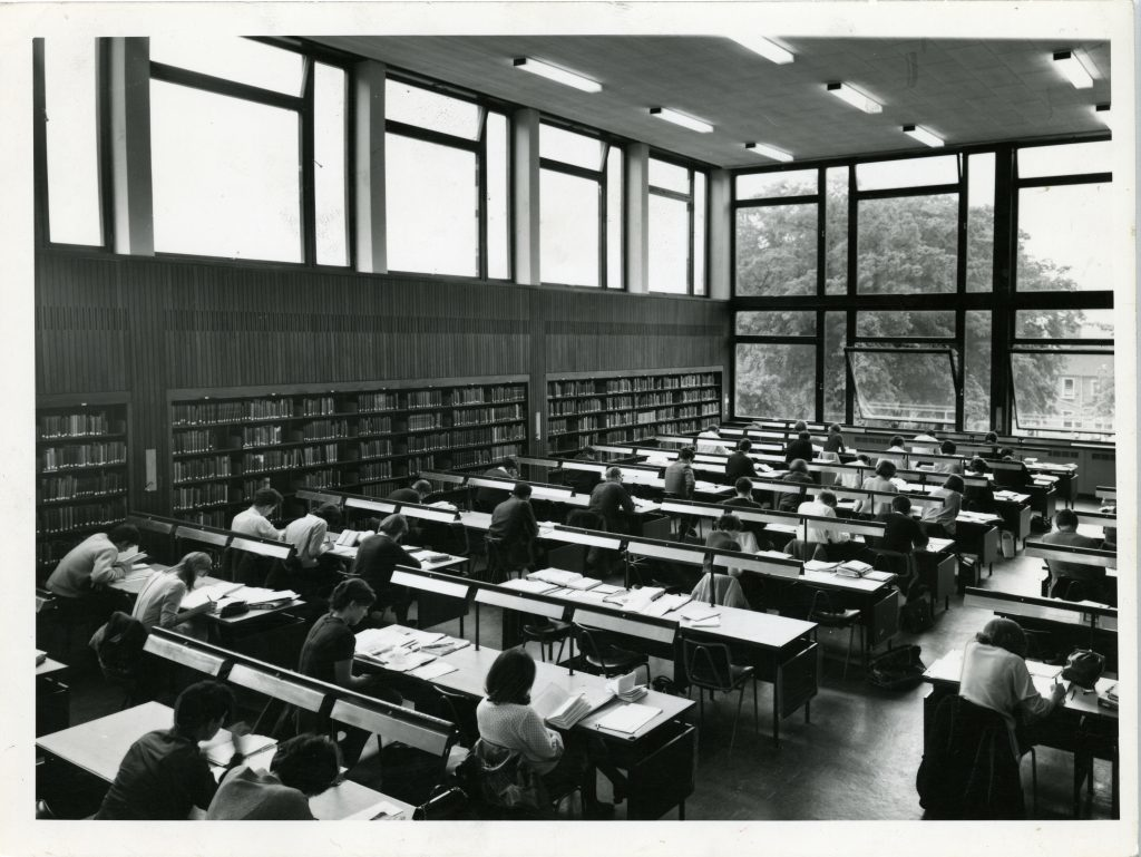 University library, 1967
