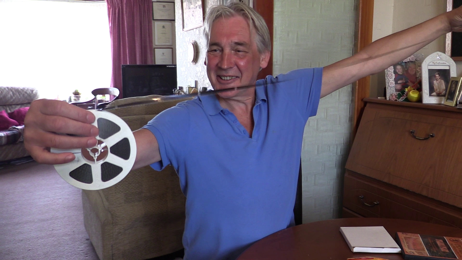 Graham Duncan shows how his films were put together in the pre-digital age.