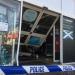 VIDEO: Ram-raiders smash into Panmurefield Co-Op to steal cigarettes and alcohol