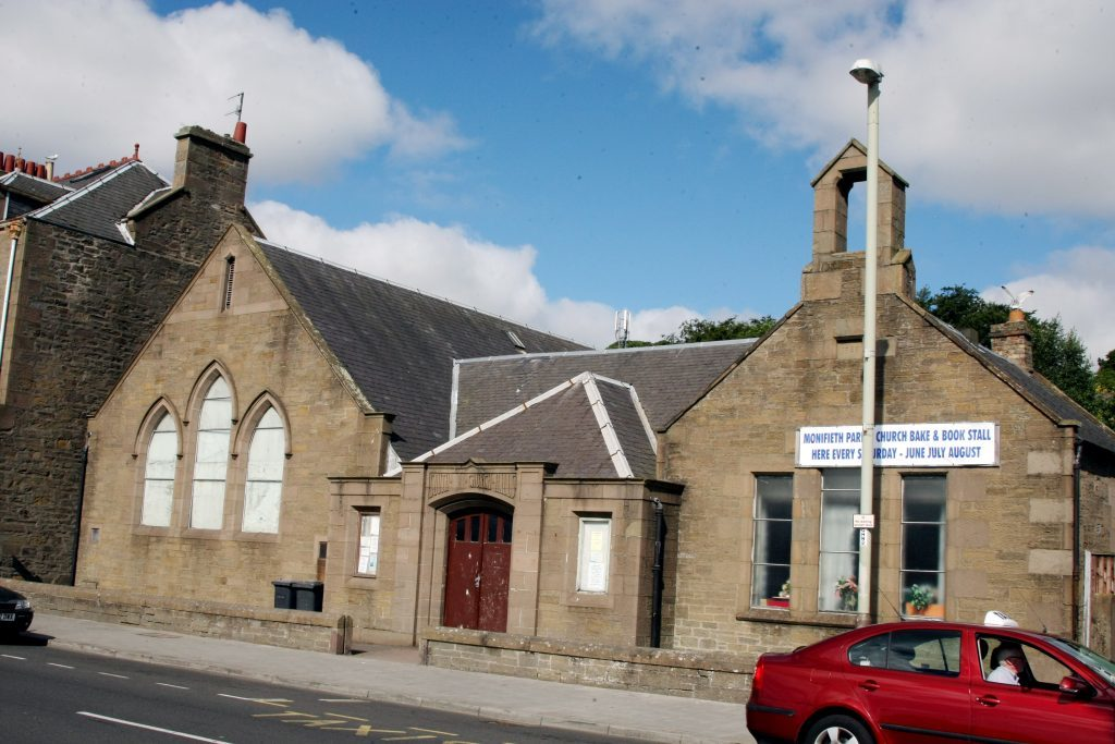 South Church halls in Monifieth.