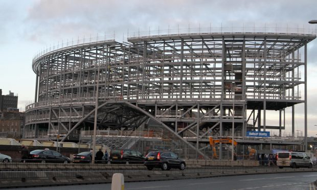 Dundee railway station redevelopment