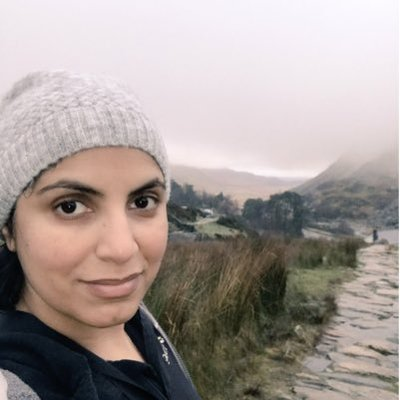 Dr Saleyha Ashan loves the mountains and long walks!