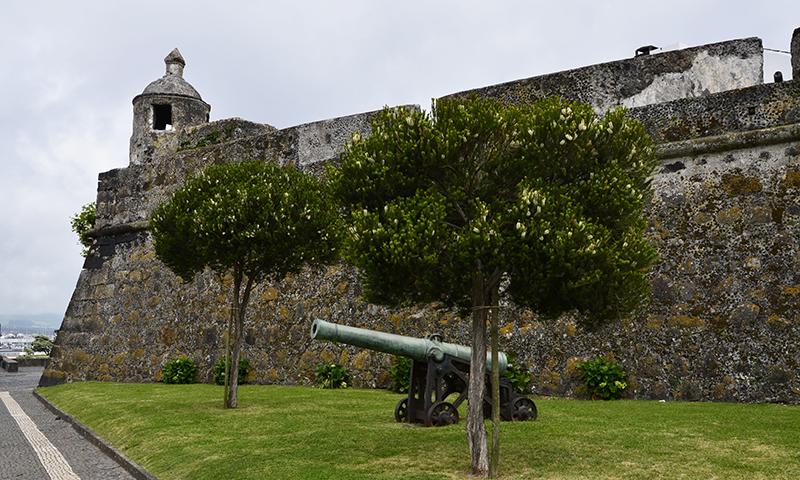 Festung Sao Bras in Ponta Delgada, Azoren