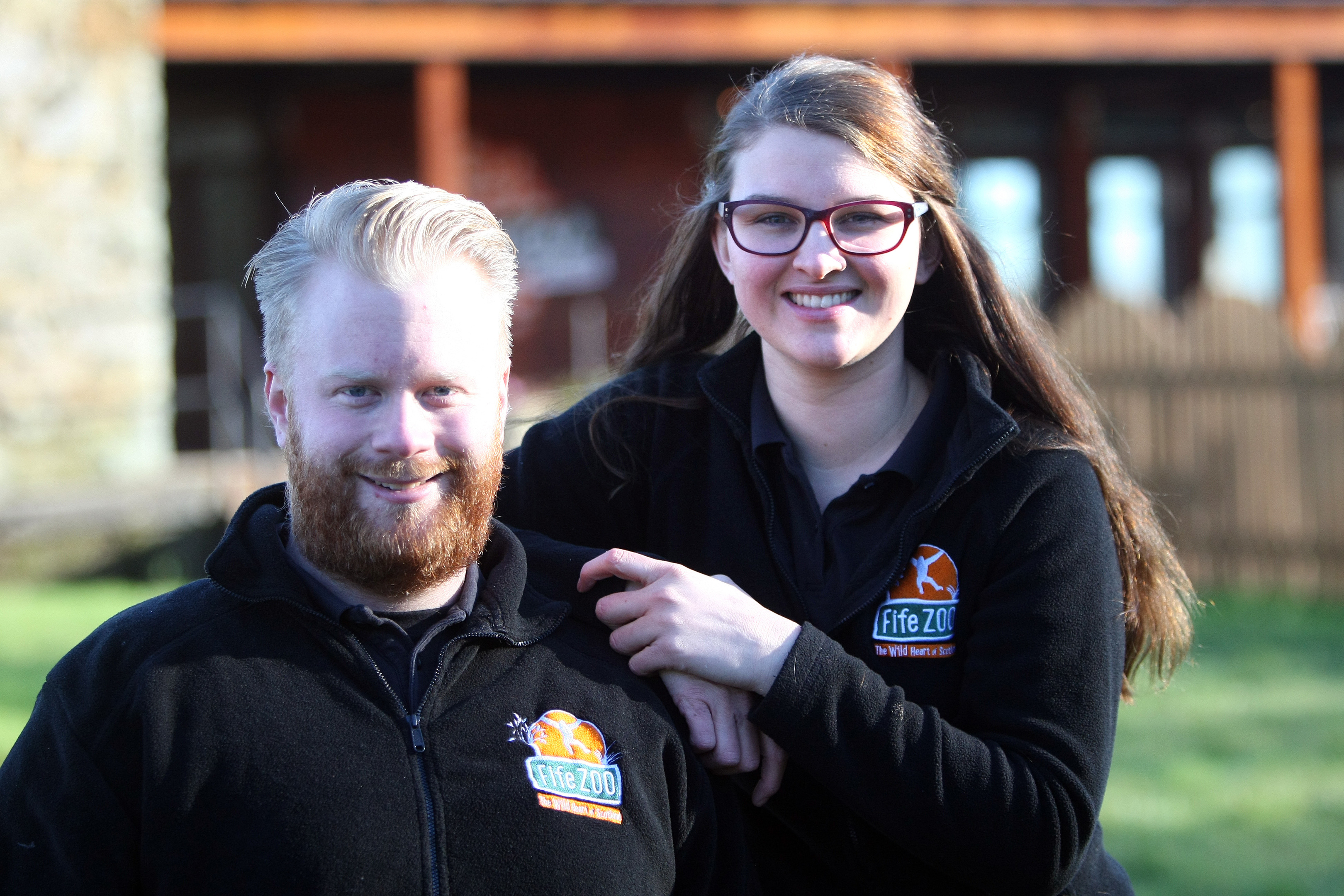 Fife Zoo owners Briony Taylor and Michael Knight