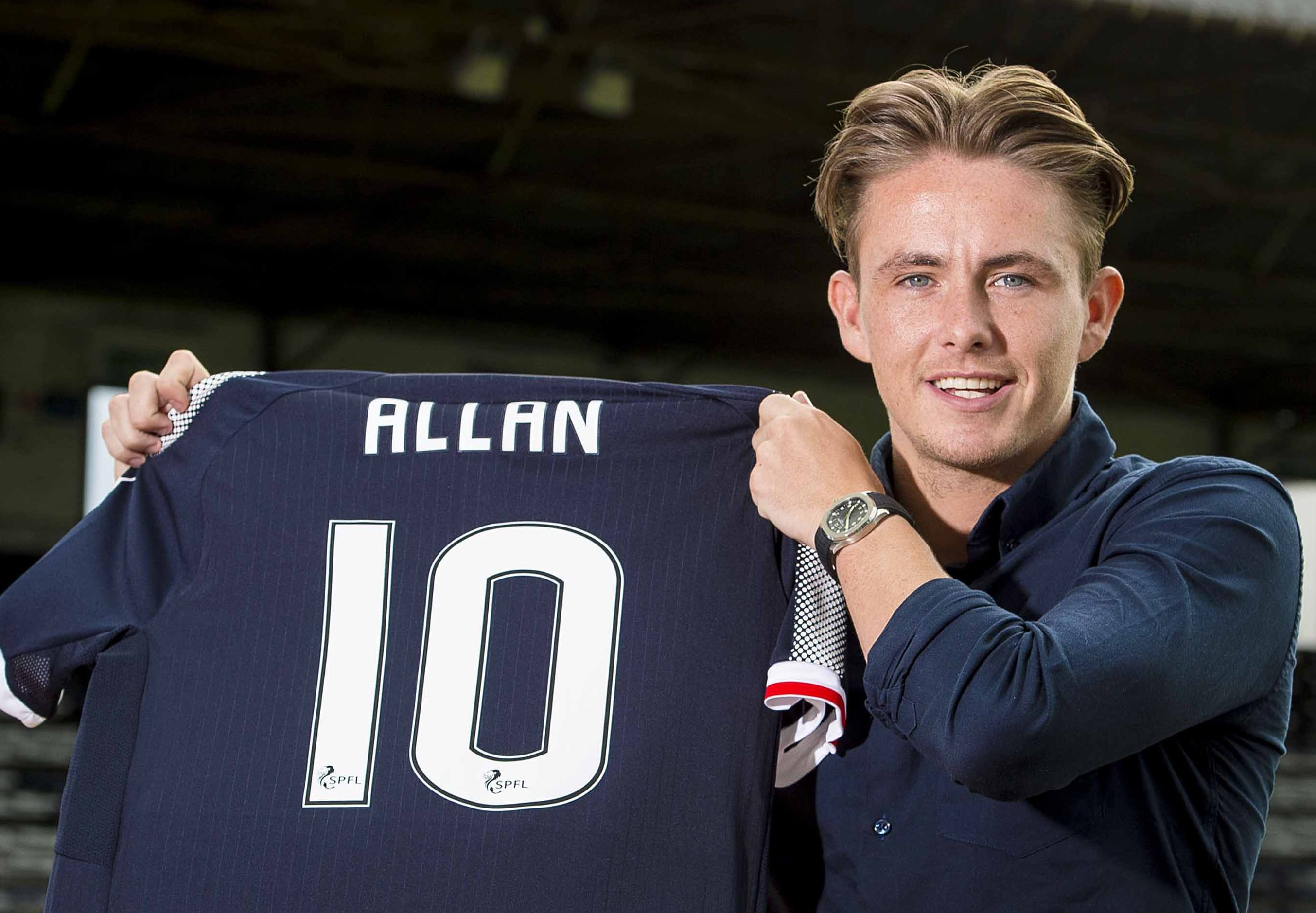 Scott Allan was Dundee's 'marquee' summer signing.