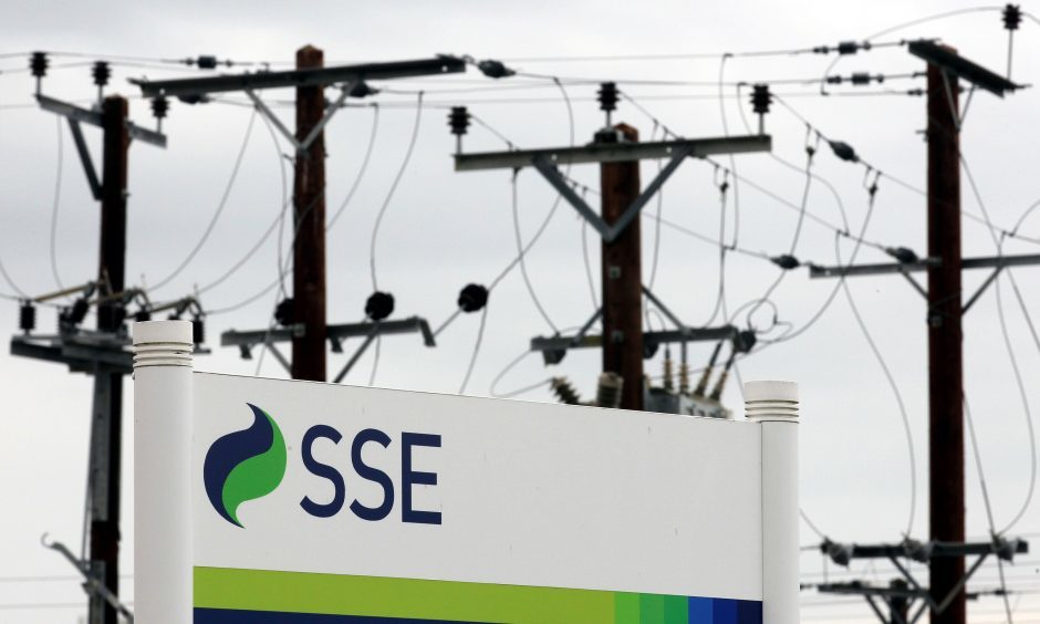 Utility company SSE is based at Perth
